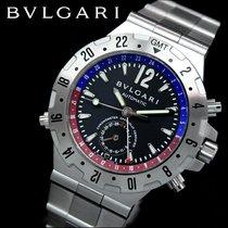불가리 (Bulgari) Diagono Men Watch GMT40SSD (NEW, Rare Watch)