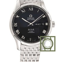 Omega De Ville Co-Axial Chronometer Annual Calendar Steel NEW