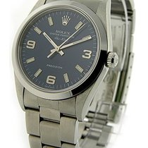 Rolex Used 114200_used_blue_arabic Air King in Steel - Smooth...