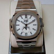 Patek Philippe 5726/1A Nautilus Annual Calendar white dial...
