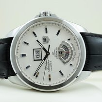 TAG Heuer Grand Carrera GMT Cal. 8 Deployable Clasp Steel 42...