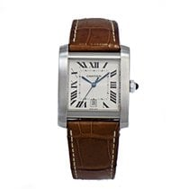 Cartier TANK FRANCAISE S/S XL Automatic  B&P