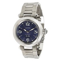 Cartier Pasha Unisex Watch W31047M7 in Stainless Steel...