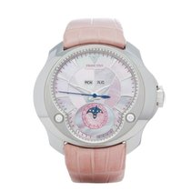 Franc Vila Selenity Diamonds Pink Mother of Pearl Stainless...