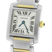 Cartier Tank Francaise Stainless Roman Swiss Quartz Watch 2300