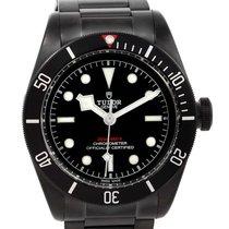 Tudor Heritage Black Bay Dark Pvd Coated Watch 79230dk-bkss...