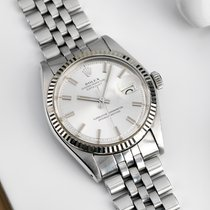 Rolex 1601 Datejust Wide Boy with papers