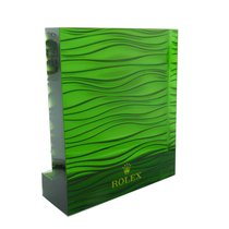Rolex Acrylic Rolex Green Watch Dealer Display Advertisement...