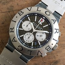 宝格丽 (Bulgari) Chronograph Ref. Ti 44 Ta CH — Men´s Watch— 2000...