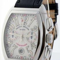 Franck Muller Conquistador 8002 CC Steel Chronograph Automatic...