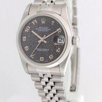 Rolex Datejust 68240 Jubilee Dial Stainless Steel Midsize...