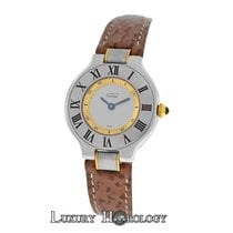 Cartier Ladies Cartier 1340 Must de Cartier Quartz Steel Gold...
