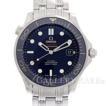 Omega Seamaster Diver 300M Co-Axial Blue Dial Steel 41MM