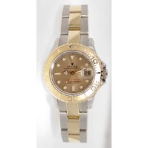 Rolex Yachtmaster Model 69623 Ladies Stainless Steel & 18K...
