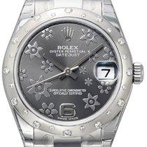 勞力士 (Rolex) Datejust 31 Ref. 178344 Dunkles Rhodium Floral...