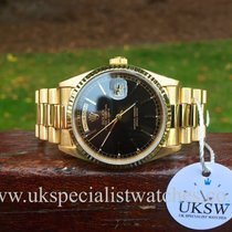 Rolex Day-Date President 18ct Gold – Black Dial – 18238
