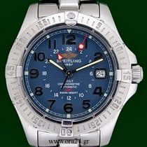 Breitling Colt Automatic GMT 41mm Blue Dial Box&Papers
