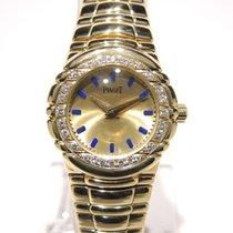 Piaget Tanagra Full 18k gold and bezel set on diamonds