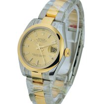 Rolex Unworn 178243 DateJust Two-Tone - Domed Bezel - Oyster...