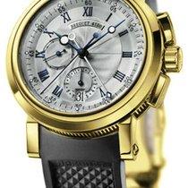 Breguet Marine Chronograph 18kt YG Chronograph B&P...