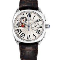 Zenith Heritage Star Open Stainless Steel 37mm Watch
