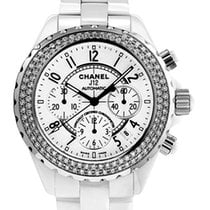 Chanel J12 Diamond Ceramic & Diamonds Ladies Watch