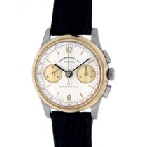Eberhard & Co. Vintage Contograf Lemania 1872 32015 Yellow...