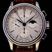 Jacques Etoile Chronograph Mondphase Glasboden Veredeltes Werk