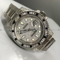 Rolex - GMT Master II 116759SARU Diamond Bezel and Dial WG