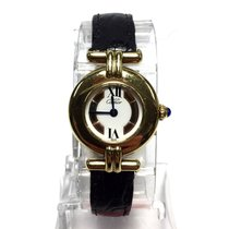 Cartier Must De Colisée Gp Argent Ladies Watch W/ Trinity Dial...