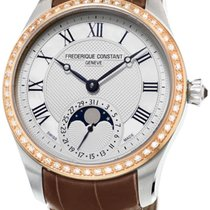 Frederique Constant Maxime Manufacture Moonphase Womens Watch...