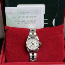 Rolex Ladies Datejust 79173 Jubilee Diamond Dial 18k Gold...
