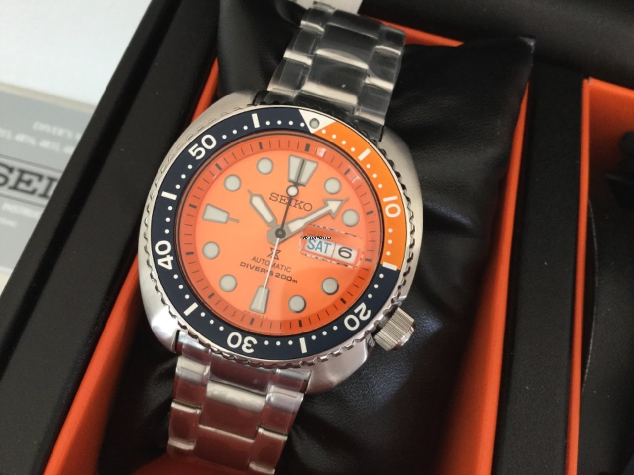 Seiko Turtle Orange Limited Edition For 24725 Sale Srpb01 From A Private Seller On Chrono24