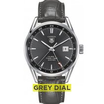 TAG Heuer CAL.7 Twin-Time Automatic - Anthracite Dial,...