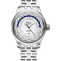 Ball Trainmaster Worldtimer Automatik Herrenuhr GM2020D-S1CJ-SL