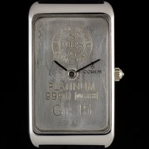 Corum Platinum 15g 999.0 Union Bank of Switzerland Ingot...