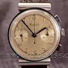 Minerva Vintage Hooded Lugs Steel Chronograph Cal. Anglus 215