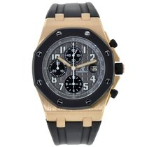 Audemars Piguet AP Offshore 42mm Chronograph Rose Gold Rubberclad