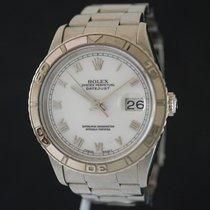 """Rolex DateJust """"Thunderbird"""" White dial Ref.16264"""