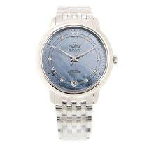 オメガ (Omega) De Ville Stainless Steel Blue Automatic 424.10.33....
