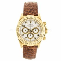 Rolex Daytona Cosmograph 18K Yellow Gold Watch 16518 (Pre-Owned)