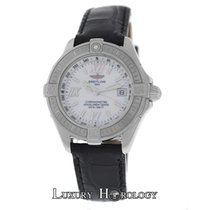 Breitling Mint Ladies  Windrider B-Class A71365 Steel MOP