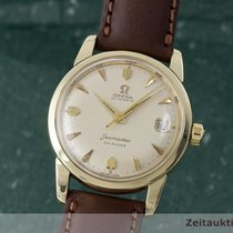 Omega Seamaster Calendar Herrenuhr Automatik Stahl / Gold...