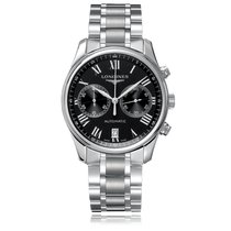 Longines Master Collection Automatic Stainless Steel Black...