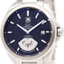 TAG Heuer Polished Tag Heuer Grand Carrera Calibre 6 Automatic...