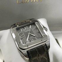 Cartier Santos 100XL  cadran gris B/P