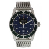 Breitling SuperOcean A17320 Limited Edition Green Bezel