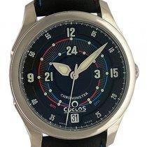 Cyclos Watch A.M./P.M. Dark Stahl Automatik 39mm