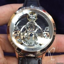 Arnold & Son Time Pyramid Rose Gold