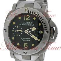 "Panerai Luminor Submersible, Black Dial with ""Paris..."